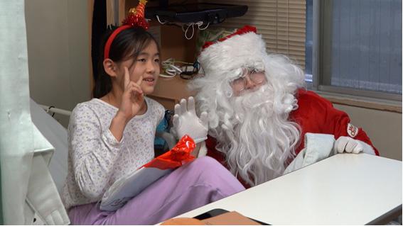 サンタさんとお姉さん