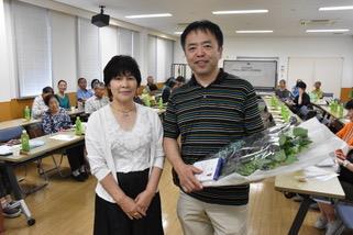 右:押川勝太郎先生