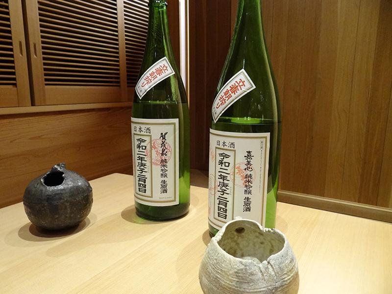 立春の早朝に絞られた生原酒。非常に希少価値が高い
