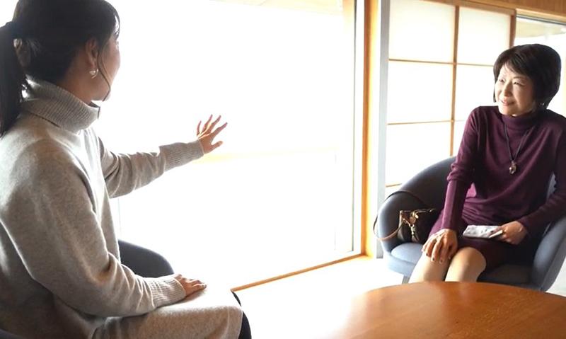 山根先生と娘さんの会話