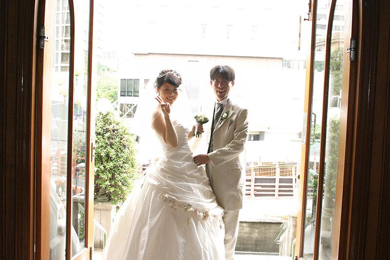 恵那さんと勝也さん